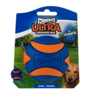 Chuckit Ultra Squeaker Ball Large (Single)