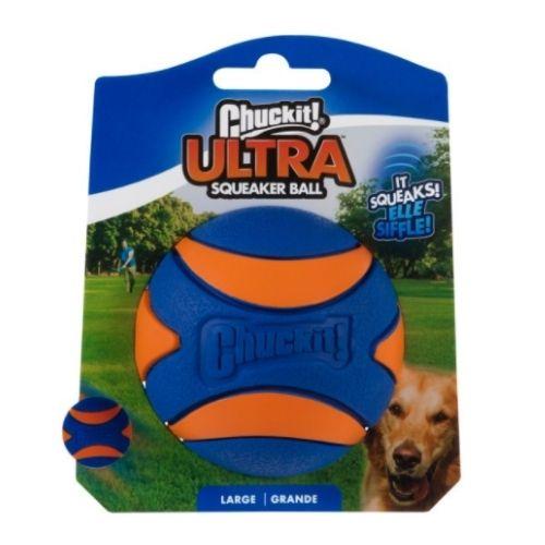 Chuckit! Ultra Squeaker Ball Large 7.3cm