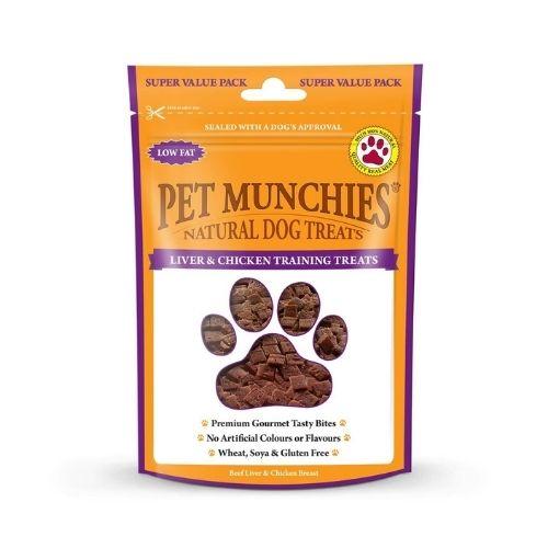 Pet Munchies Liver & Chicken Training Treats 150gm