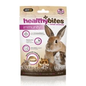 VetIQ Healthy Bites Immunity Care Treats for Small Animals 30gm