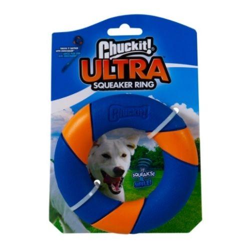 Chuckit! Ultra Squeaker Ring 12cm