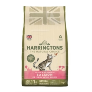 Harringtons Adult Cat with Salmon 2kg