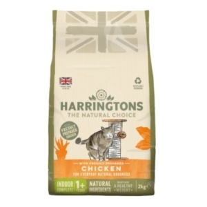Harringtons Indoor Cat with Freshly Prepared chicken 2kg