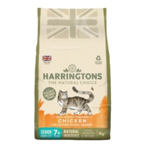 Harringtons Senior Cat with Freshly Prepared Chicken 2kg