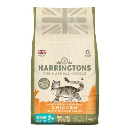 Harringtons Senior Cat with Freshly Prepared Chicken 2kg