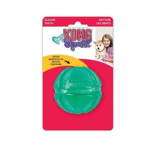 KONG Squeezz Dental Ball