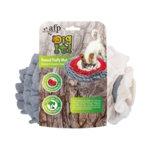 All for Paws Dig It Round Fluffy Mat 52cm