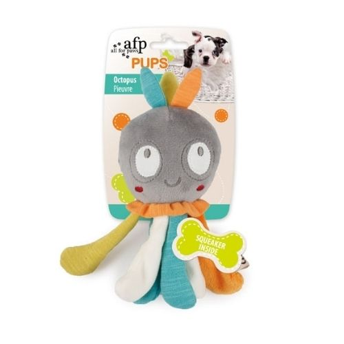 All for Paws PUPS Squeaky Octopus 19cm