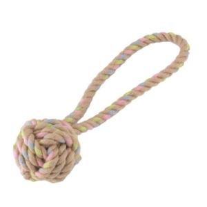 BECO Hemp Rope Ball & Loop