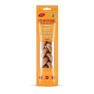 Pet Munchies Premium Dental Buffalo Chew Large