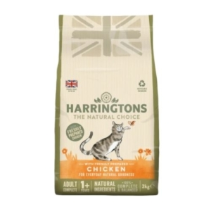 Harringtons Adult Cat with Freshly Prepared Chicken 2kg
