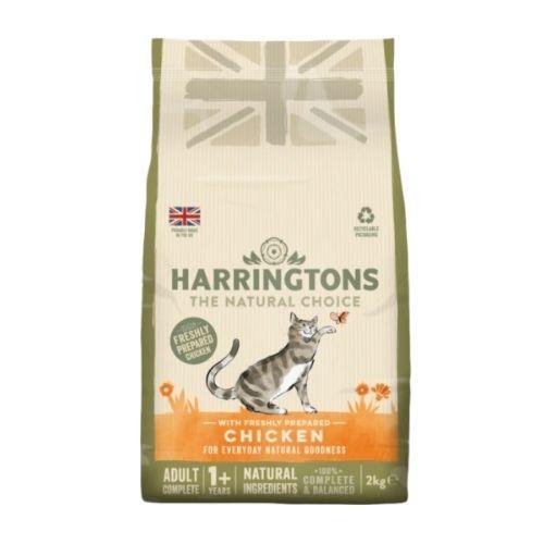 Harringtons Adult Cat with Freshly Prepared Chicken 2kg