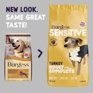Burgess Sensitive Adult Turkey 12.5kg