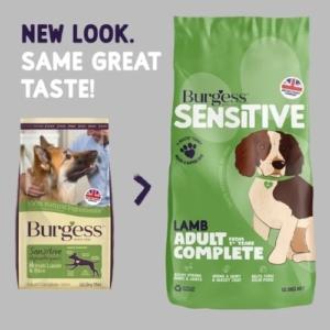 Burgess Sensitive Adult Lamb 12.5kg