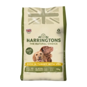 Harringtons Adult Turkey with Veg