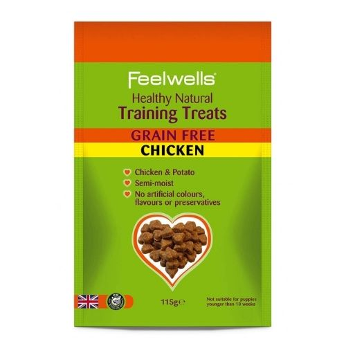 Feelwells Grain Free Training Treats 115g