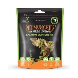Pet Munchies Salmon Skin Chews Large 2pcs