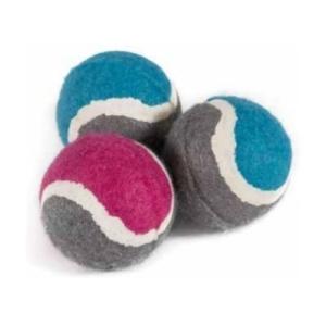 Ancol Small Bite Mini Tennis Balls 6pcs
