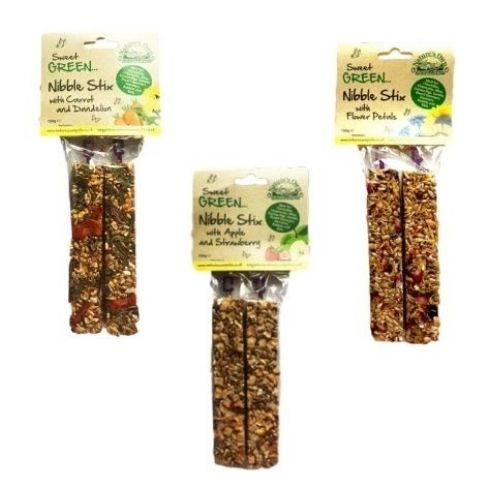 Natures Own Sweet Green Nibble Stix Bundle 3x2pcs