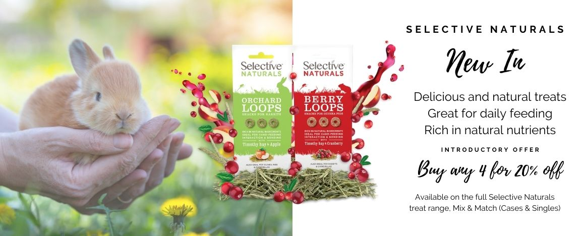 Selective Naturals Banner NEW IN