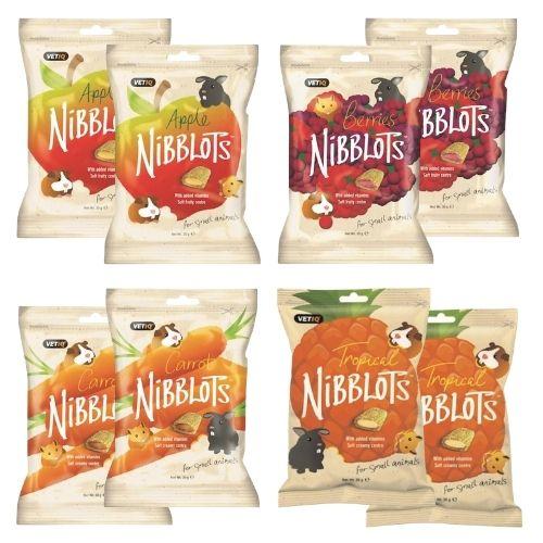 VetIQ Nibblots Treat Bundle 8x30g [2 of Each Flavour]