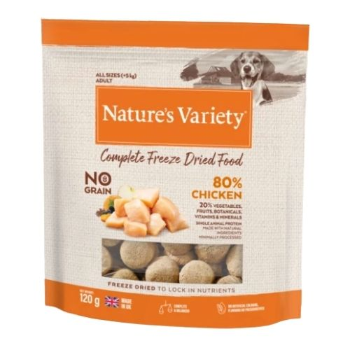 Natures Variety Complete Freeze Dried Chicken 120g