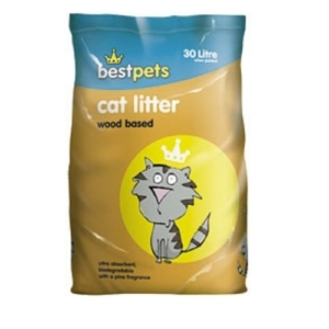 BestPets Wood Based Cat Litter 30L