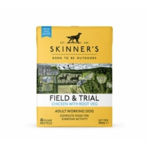SKINNER'S Field & Trial Adult Chicken with Root Veg 18x390g