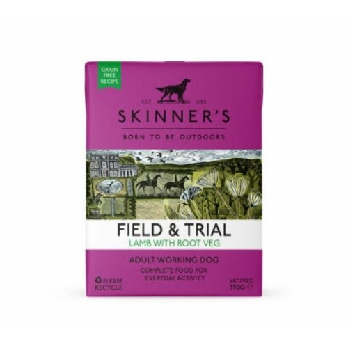 SKINNER'S Field & Trial Adult Lamb with Root Veg 18x390g