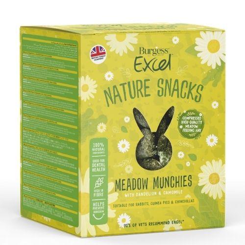 Burgess Excel Nature Snacks Meadow Munchies 1kg