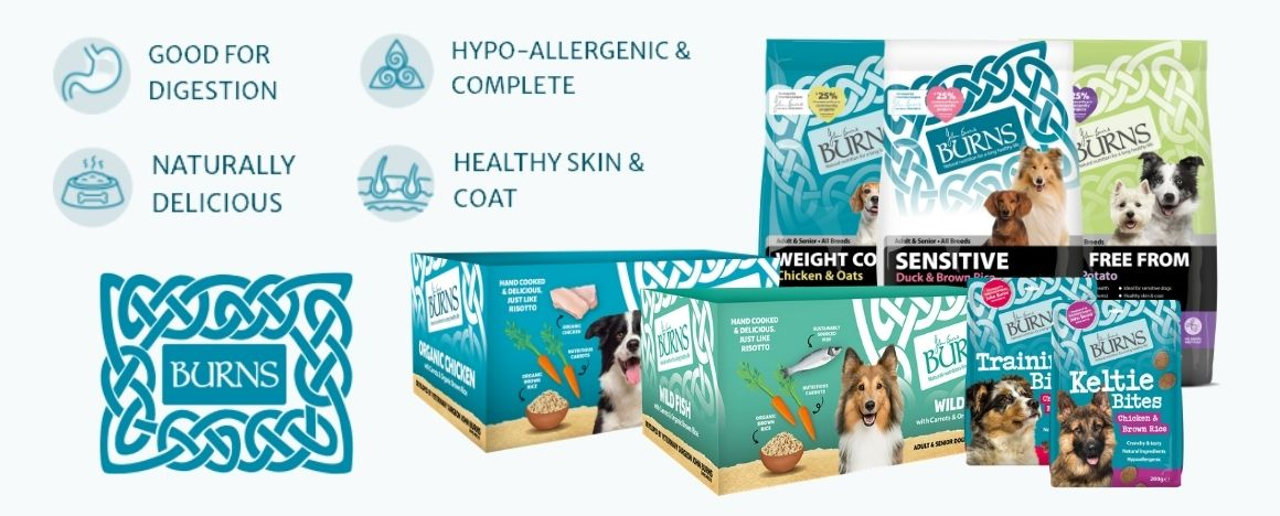 BURNS Pet Nutrition Banner