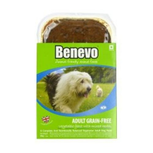 Benevo Adult Grain Free Vegetable Feast with Mixed Herbs 10x395g
