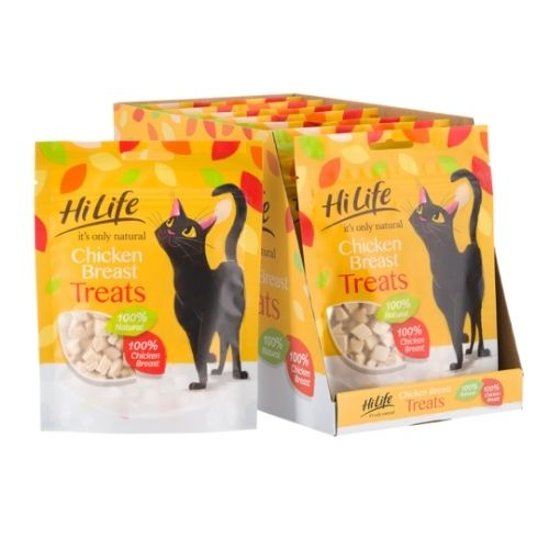 HiLife Natural Chicken Breast Treats Value Pack 30g