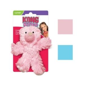 KONG Kitten Teddy Bear with Catnip 11.5cm