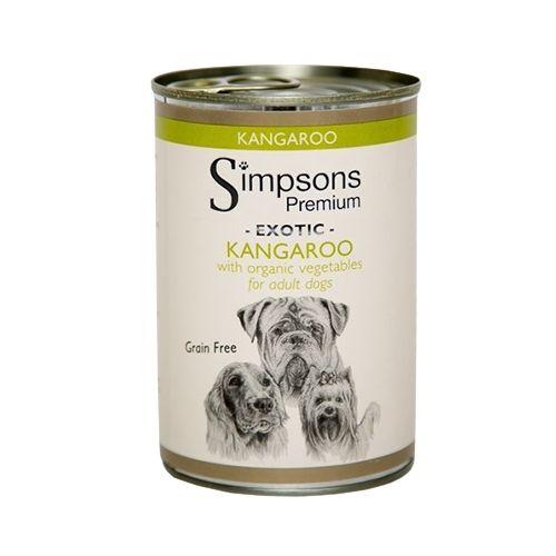 Simpsons Premium Exotic Kangaroo with Organic Vegetables 6x400g