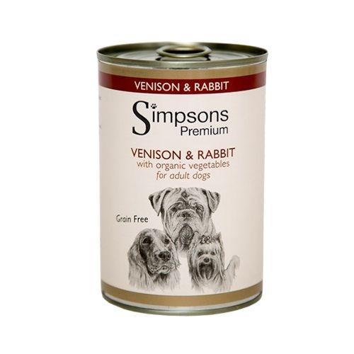 Simpsons Premium Venison & Rabbit 6x400g