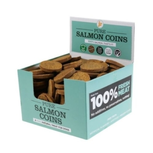 JR Pure Salmon Coins 100g (Loose Weight)