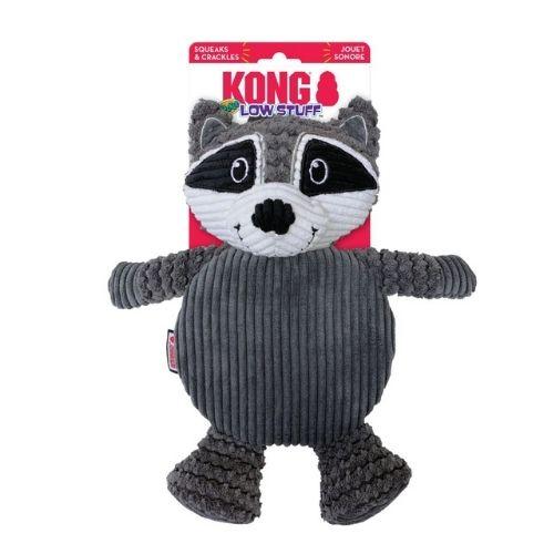 KONG Low Stuff Crackle Tummiez Raccoon