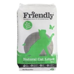 Friendly Natural Cat Litter 20kg