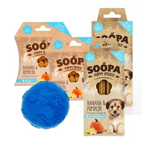 SOOPA Puppy Bundle with Ball