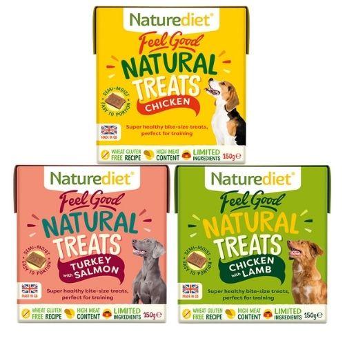 Naturediet Feel Good Treat Bundle 6x150g [2 of Each Flavour]