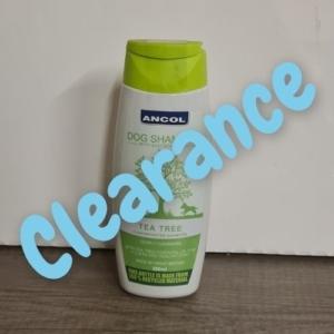 (C) ANCOL Tea Tree Dog Shampoo 200ml [DAMAGED LID]