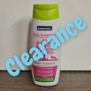 (C) ANCOL Baby Powder Dog Shampoo BB 200ml [DAMAGED LID]