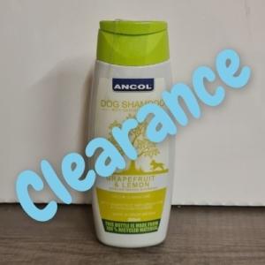 (C) ANCOL Grapefruit & Lemon Dog Shampoo 200ml [DAMAGED LID]