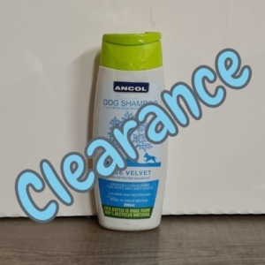 (C) ANCOL Blue Velvet Dog Shampoo 200ml [Cracked Lid]